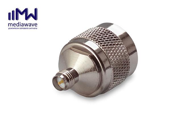 Переходник MediaWave MW-S-NMRPSF - SN-A321 N-male - RP-SMA-female
