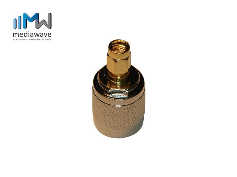 Разъем N-типа, вилка, для кабеля 5D-FB, обжимной - MediaWave MW-J-N5M