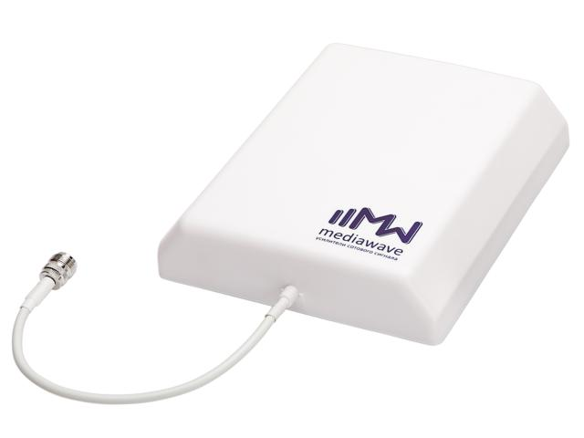 Антенна MediaWave MWA-827-PO9 (8--2700 МГц, уличная, панельная)