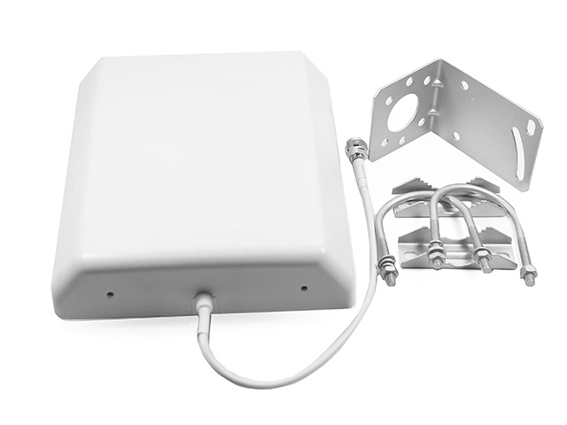 Антенна MediaWave MWA-827-POU9 (800-2700 МГц, уличная, панельная, крепление на мачту)