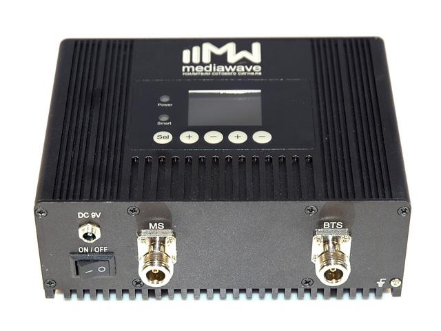 Репитер сотового сигнала GSM/3G/4G-LTE 1800/2100 МГц - MediaWave MWD-DW-B20