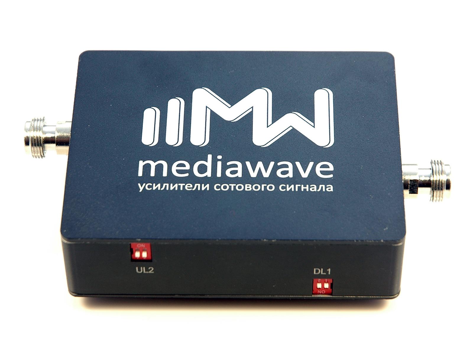 Репитер сотового сигнала GSM/3G/4G-LTE 1800/2100 МГц - MediaWave MWD-DW-B23