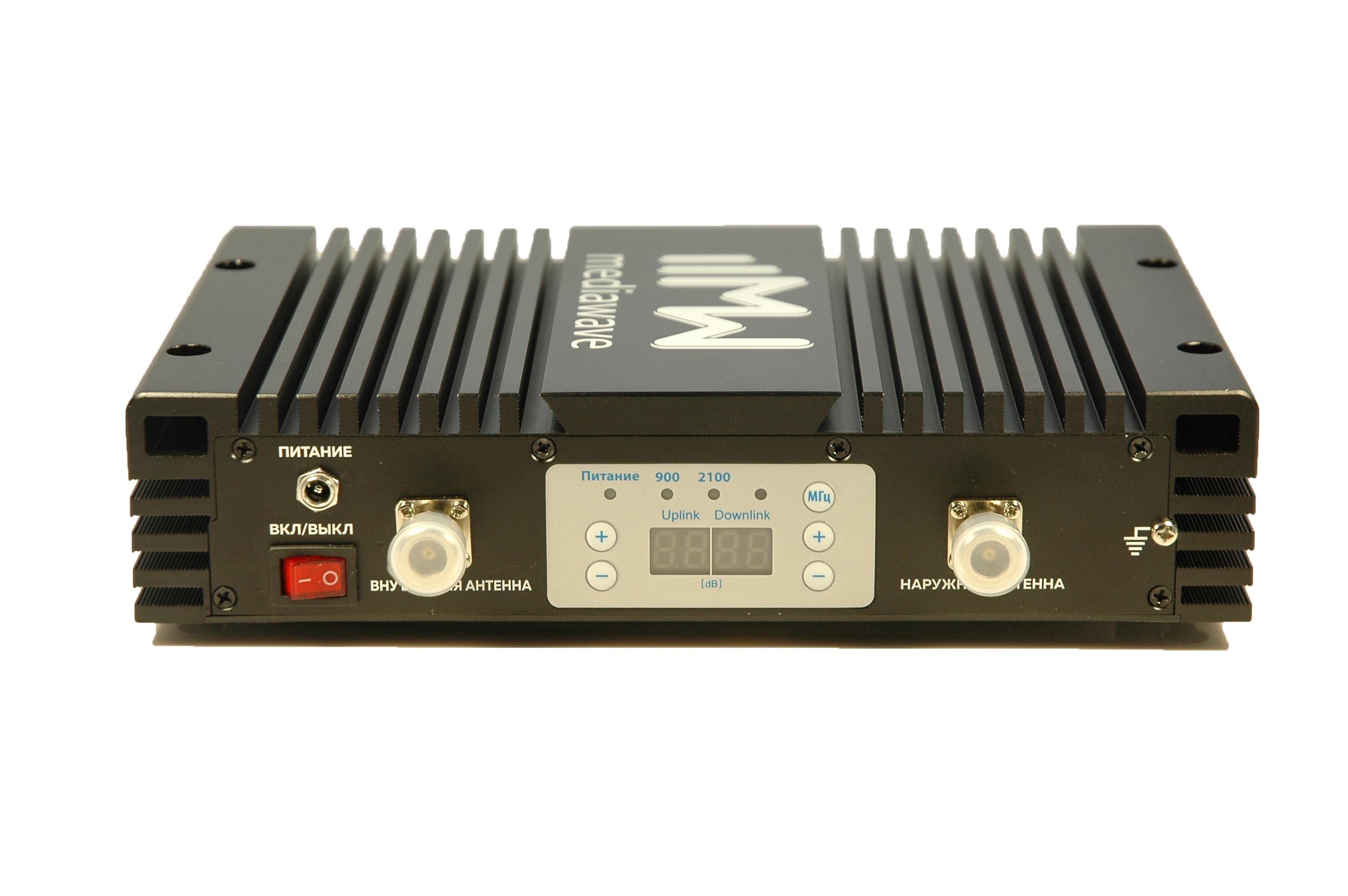 Репитер сотового сигнала GSM/3G 900/2100 МГц - MediaWave MWD-EGW-BM23