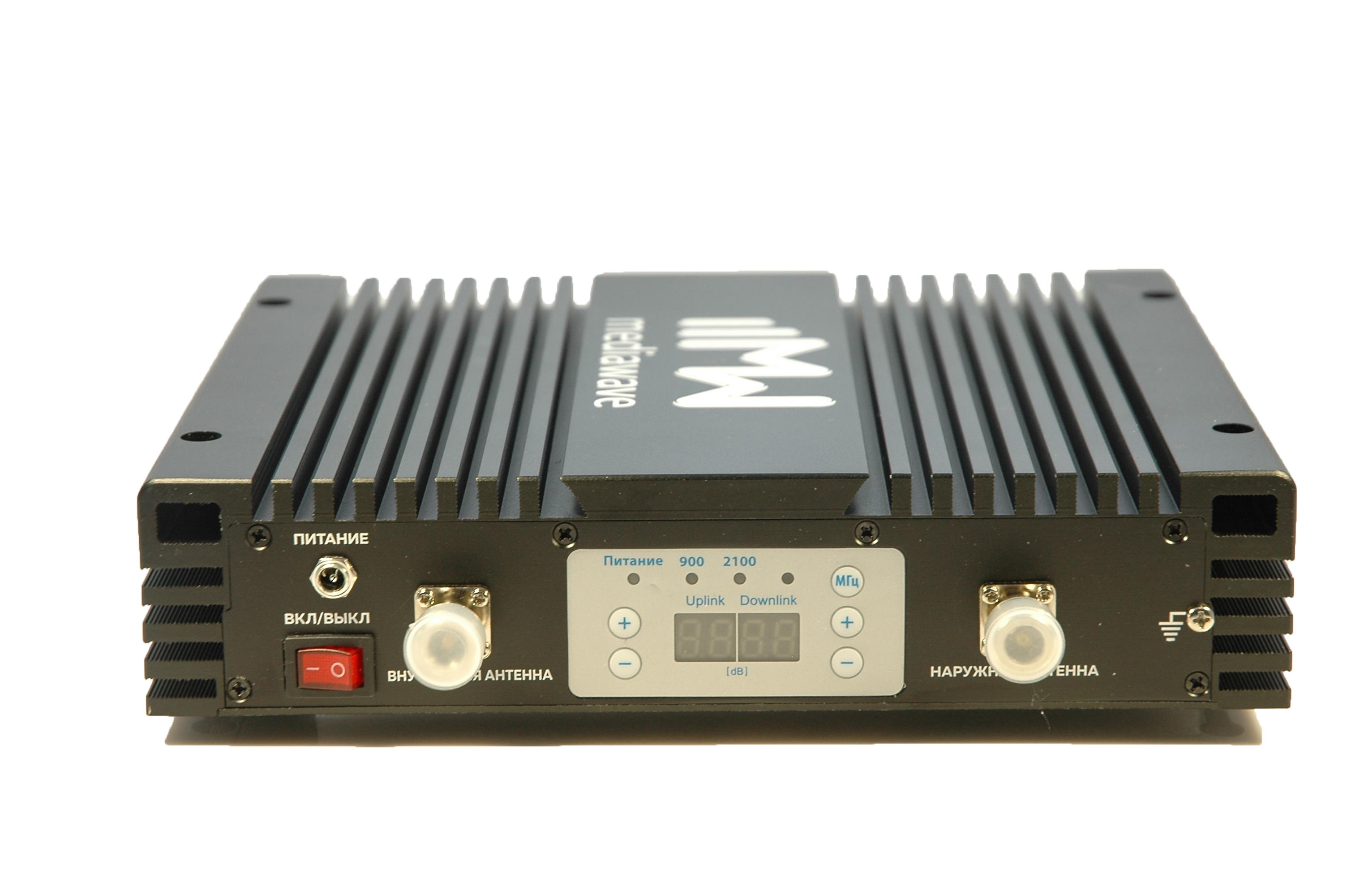 Репитер сотового сигнала GSM/3G 900/2100 МГц - MediaWave MWD-EGW-B30