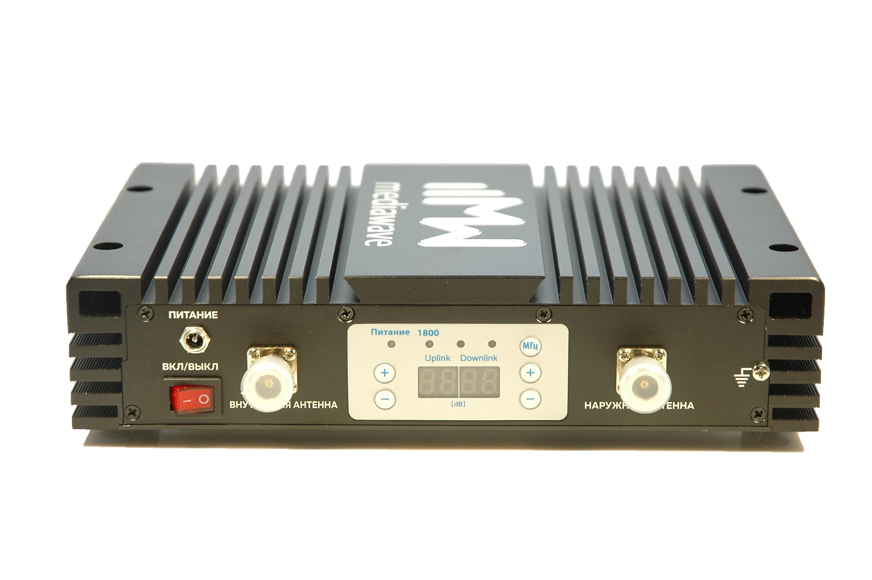 Репитер сотового сигнала GSM / LTE 1800 МГц - MediaWave MWS-D-BM30