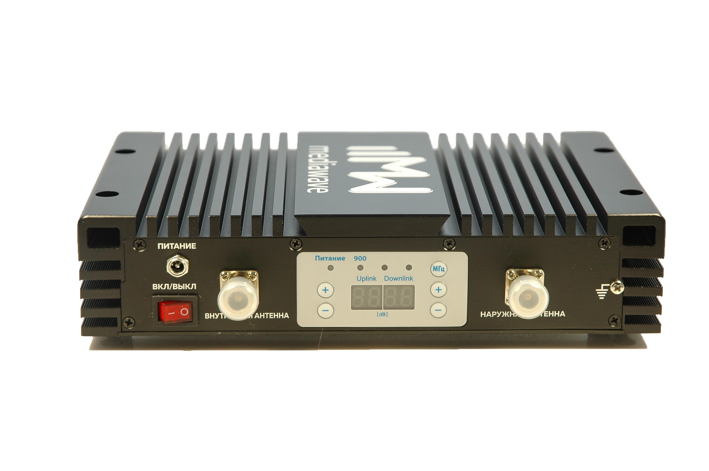 Линейный усилитель (бустер) в стандарте связи EGSM / UMTS 900 МГц - MediaWave MWS-EG-BST30