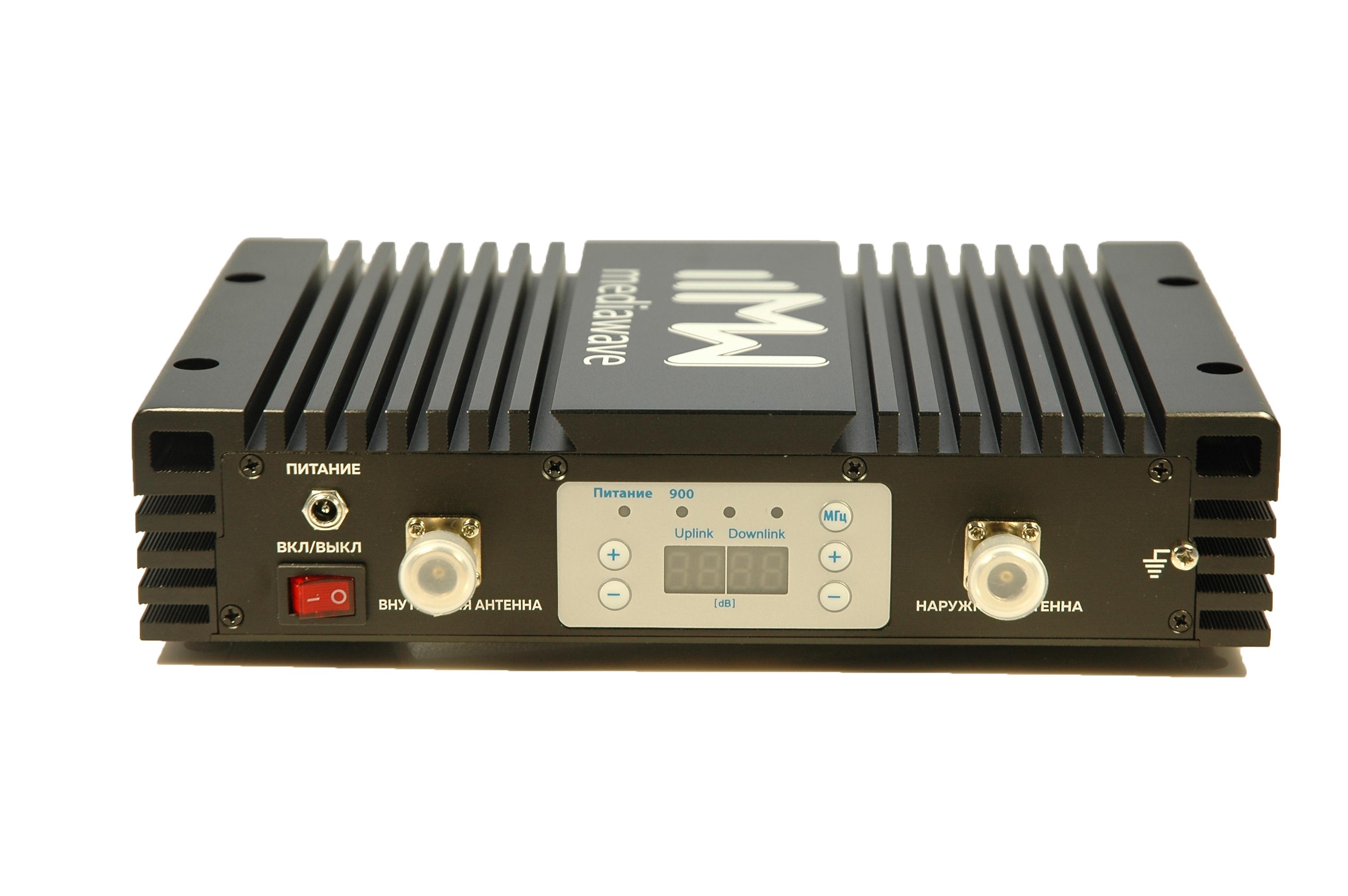 Линейный усилитель (бустер) в стандарте связи EGSM / 3G 900 МГц - MediaWave MWS-EG-BST33