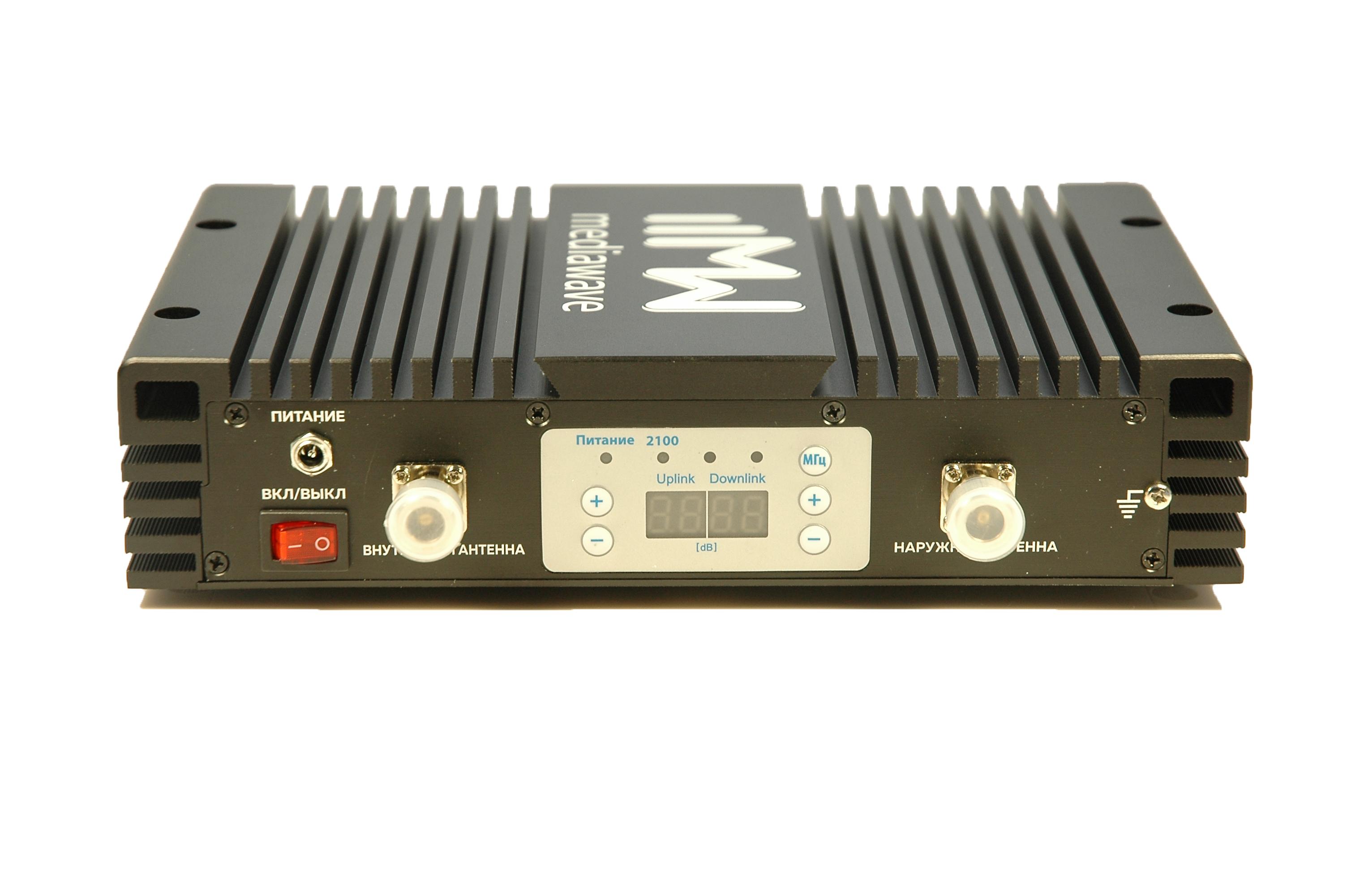 MediaWave MWS-W-BST30 - линейный усилитель (бустер) в стандарте связи 3G 2100 МГц