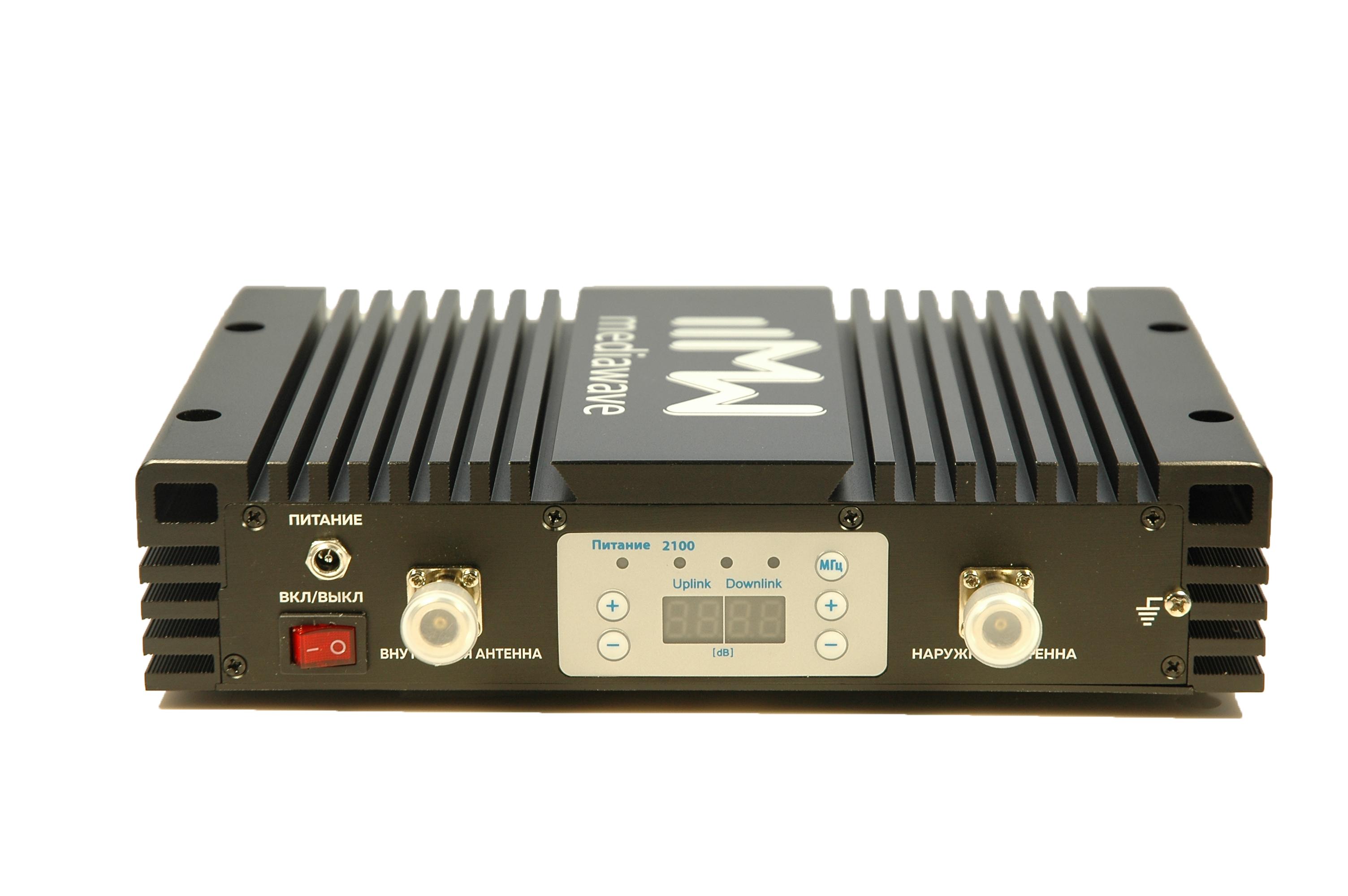Линейный усилитель (бустер) в стандарте связи 3G 2100 МГц - MediaWave MWS-W-BST33