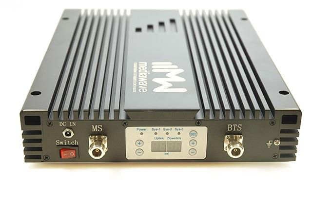 Репитер сотового сигнала GSM/3G/4G-LTE 1800/2100/2600 МГц - MediaWave MWT-DWL-BM20