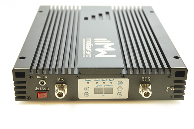 Бустеры 1800/2100/2600 МГц (GSM/3G/4G-LTE)